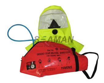 Dispositivo de respiração mínimo do escape da emergência do instrumento de respiração do ar comprimido do ar do EC/MED 15 - EEBD